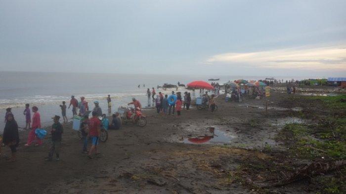 Pantai Babussalam, Desa Air Hitam Laut kabupaten Tanjung Jabung Timur
