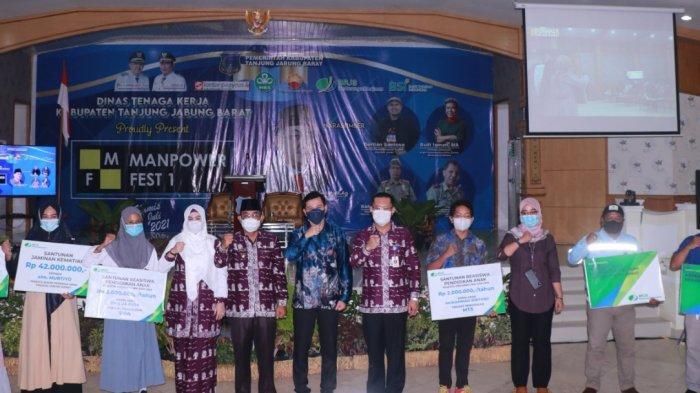Dinas Tenaga Kerja Tanjab Barat Launching Program Manpower Festival 1 Ekonomi Kreatif