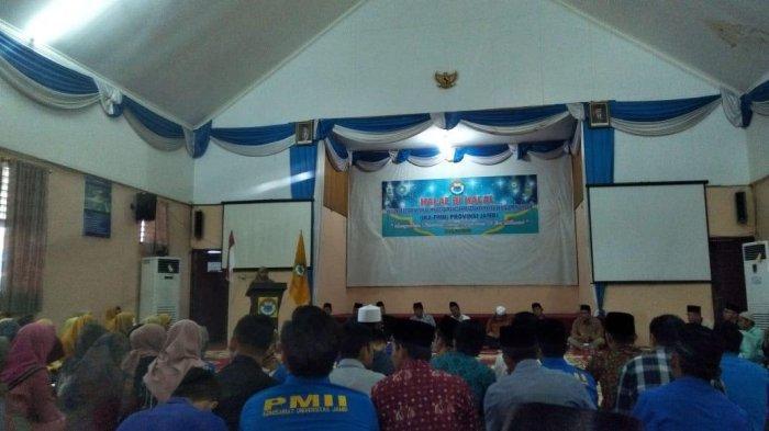 Mantan Gubernur Jambi, Hadiri Halal bihalal Bersama PMII, HBA: Kita Tidak Boleh Lupakan PMII