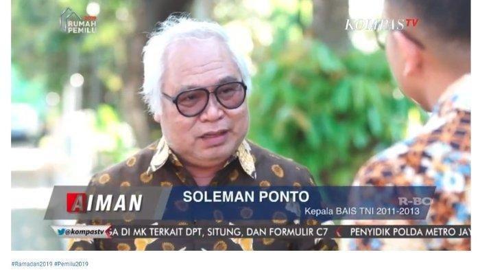 BLAK-Blakan Mantan Kepala Badan Intelijen Strategis (BAIS) TNI Ungkap Dalang Aksi 22 Mei 2019