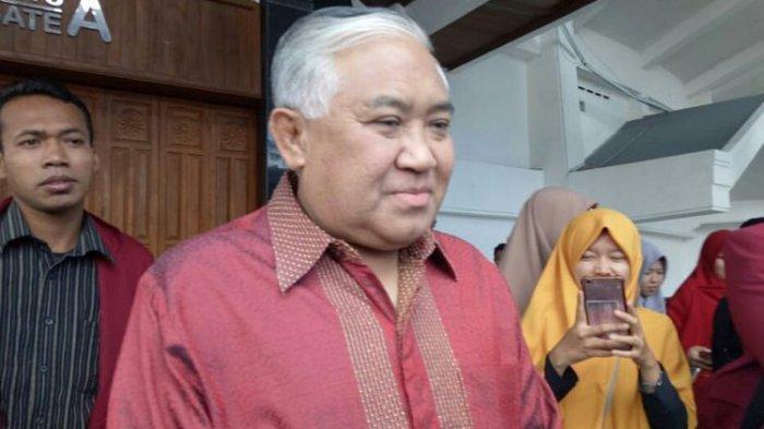 Nyatakan Sikap Tak Ikut Aksi 'People Power', 22 Mei 2019, Din Syamsuddin: Itu Bukan Cara Saya