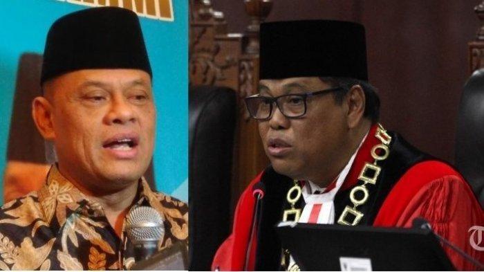 Mantan Panglima TNI Gatot Nurmantyo dan mantan Ketua MK, Arief Hidayat.