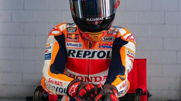 Marc Marquez di MotoGP 2021