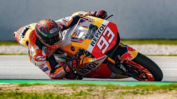 JADWAL MotoGP 2021 yang Race Pekan Ini, 28 Maret 2021, Marc Marquez Akan Absen di Seri MotoGP Qatar