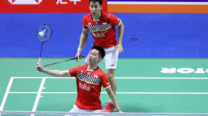 Hasil Final Indonesia Masters 2020 Markus/Kevin vs Ahsan/Hendra, dan Greysia/Apriyani Vs Maiken/Sara