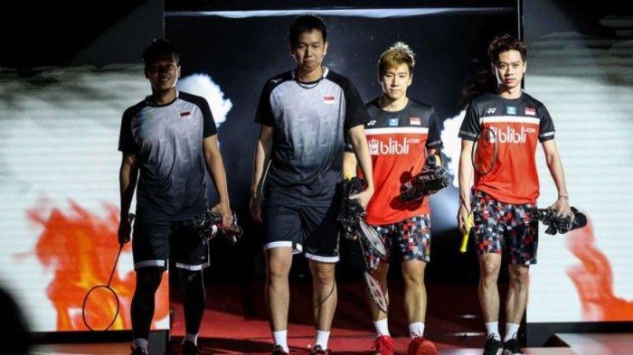 SEDANG BERLANGSUNG Marcus/Kevin Main di Badminton Olimpiade Tokyo 2020, Live TVRI dan Indosiar