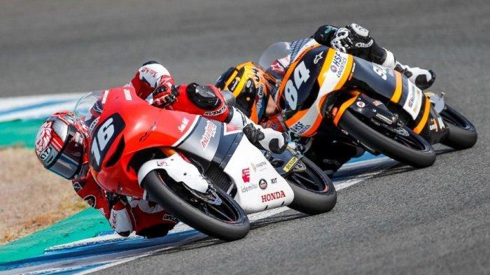 Mario Suryo Aji Berhasil Raih Poin Penting di FIM CEV Jerez