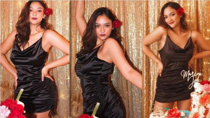 Pose Seksi Marion Jola Pakai Dress Terlalu Pendek Disorot di Momen Ulang Tahun ke-21: My Favorit