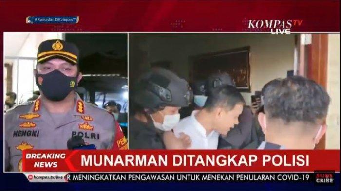 Munarman Ditangkap Densus 88, Markas FPI di Petamburan Digeledah