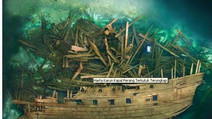 Temuan Harta Karun Kapal Perang Terkutuk 1500-an