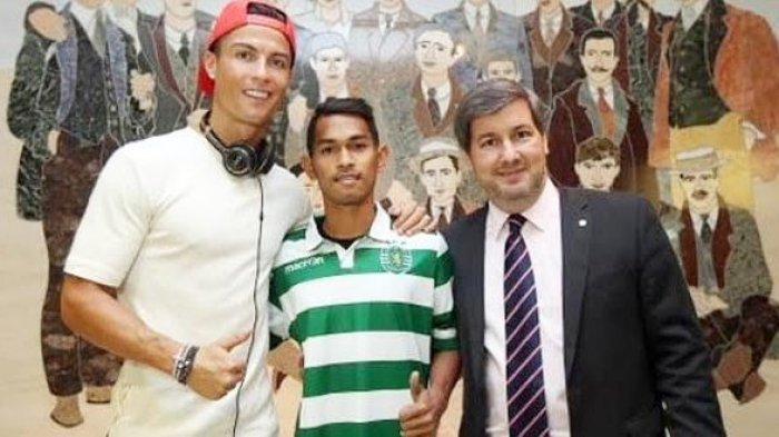 3 Permintaan Anak Cristiano Ronaldo Asal Indonesia ini Dikabulkan Oleh Sang Mega Bintang