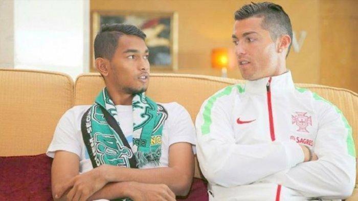 Ingat Anak Angkat Cristiano Ronaldo di Indonesia, Martunis Baru Saja Mempersunting Kekasihnya