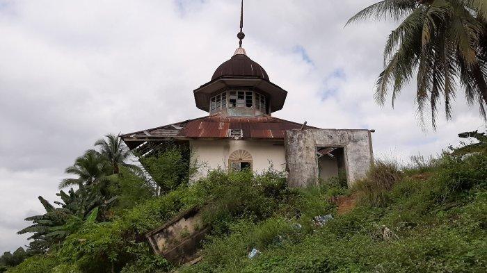 Cerita Masjid Muhajirin di Tepi Sungai Batang Tebo yang Kini Tak Terpakai, Jadi Seperti Bangunan Tua