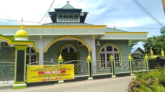 Alasan Masjid Syafa'at di RT 05 Payo Selincah Ditutup, Padahal Warga RT 04 yang Terpapar Covid-19