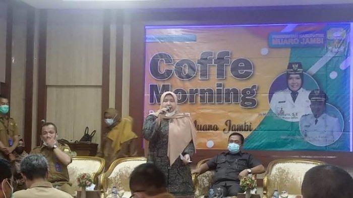 Gelar Coffee Morning Dengan Insan Pers, Masnah Busro Pesan Kepala OPD Jangan Alergi Pada Wartawan
