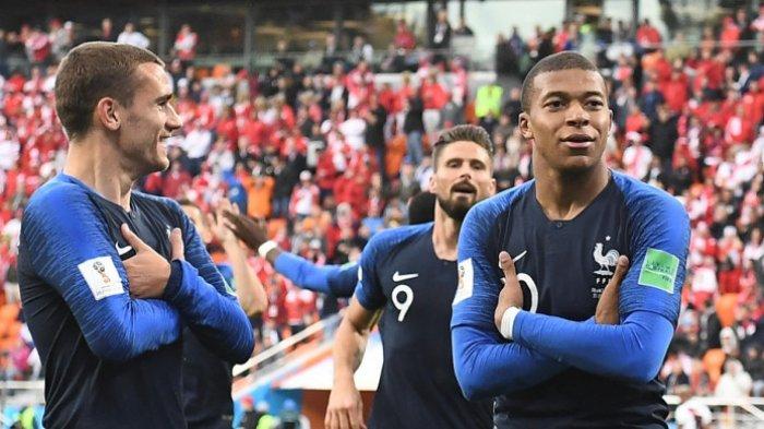 Mbappe Pemain Timnas Prancis yang Samai Prestasi Pele Saat Piala Dunia, Begini Sepak Terjangnya