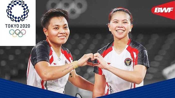Peringkat BWF Greysia/Apriyani Setelah Dapat Medali Emas di Olimpiade Tokyo 2020, Naik?