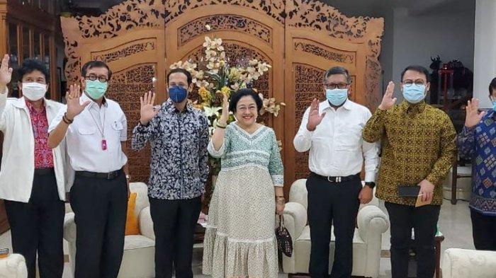 Nadiem Makarim dan Yasonna Laoly Mendadak Temui Megawati di Teuku Umar, Terkait Isu Reshuffle?