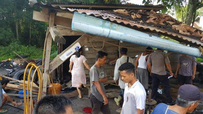 BREAKING NEWS: Korban Ledakan di Mandingan Meninggal Dalam Perjalanan ke Jambi
