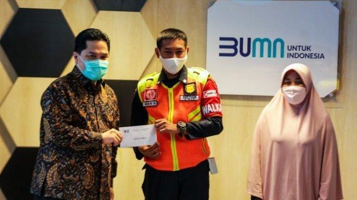Menteri BUMN Bereaksi, Begini Nasib Petugas Kebersihan yang Menemukan Uang Rp 500 Juta Gerbong KRL