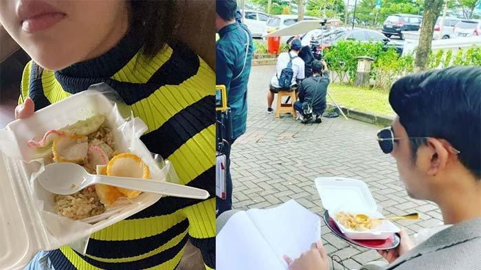 Menu Sarapan Para Pemain Ikatan Cinta, Amanda Manopo Pamerkan Nasi Goreng Pucat