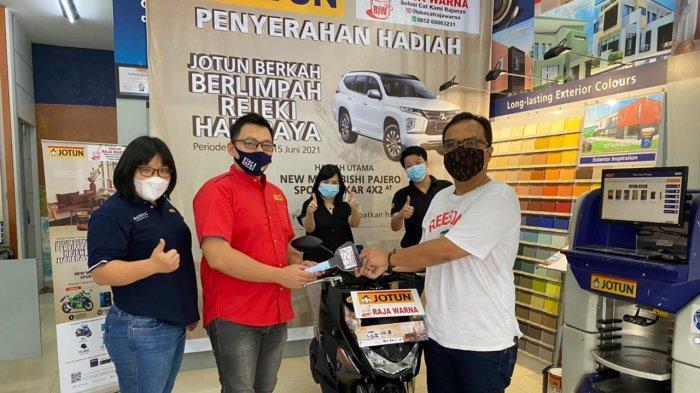 Menyambut bulan Ramadhan dan Idul Fitri 2021 ini, PT Jotun Indonesia meluncurkan promosi menarik yaitu Jotun Berkah Berlimpah Rejeki Hari Raya.