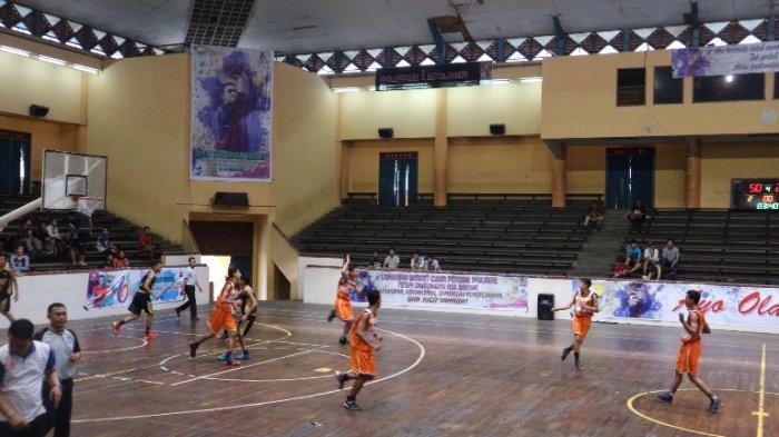 Tinggalkan Bungo 26 Poin, Tim Basket Merangin Melaju ke Final Gubernur Cup