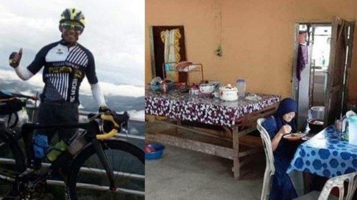 Malunya Bukan Main! Pesepeda Ini Makan di Rumah Warga yang Dikiranya Warung, Sadar saat Mau Bayar