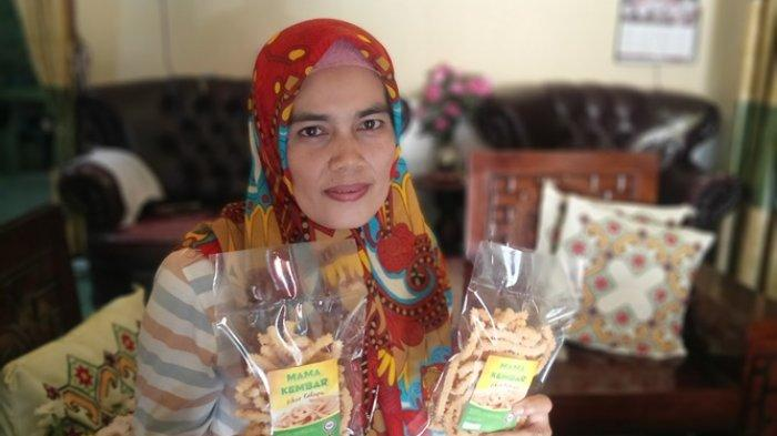 UMKM Mama Kembar, Produksi Kue Semprong Berbagai Varian Rasa Sampai Akar Kelapa
