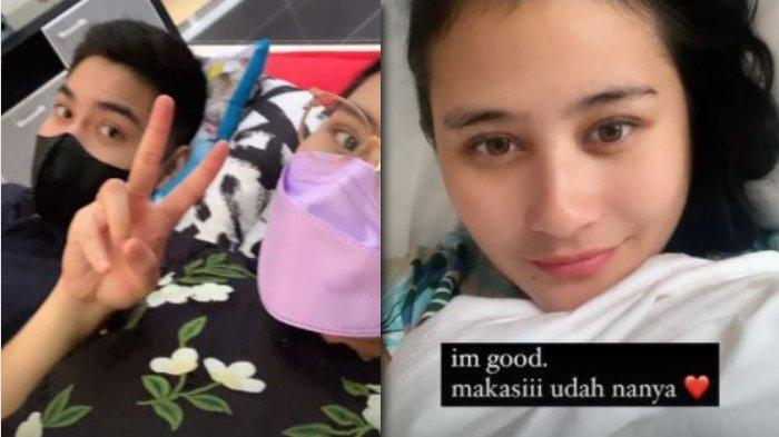 Mesranya Prilly Latuconsina Posting Tidur Bareng Irzan Faiq