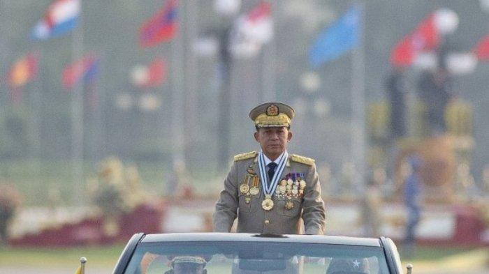 Pemimpin Kudeta Myanmar akan ke Jakarta Untuk Hadiri KTT ASEAN, Min Aung Hlaing Jadi Pemimpin Sah?