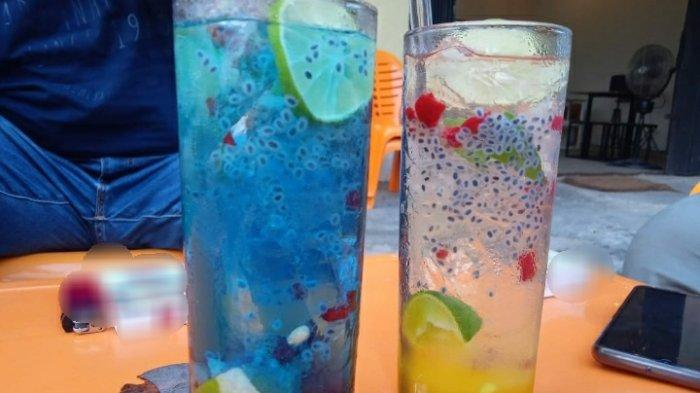 Minuman Dingin non alkohol  di Legenda Park Inspirasi dari Minuman Beralkohol, Rasanya Nyegerin Abis
