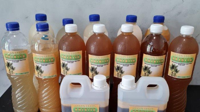 UMKM Adzkiya Produksi Minuman dari Nira Aren, Rasanya Tak Kalah dengan Softdrink Ternama