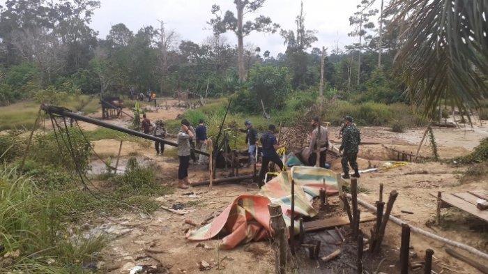 Lingkungan Rusak Akibat Tambang Minyak Ilegal di Sarolangun, Sungai dan Rawa Tercemar Minyak Mentah