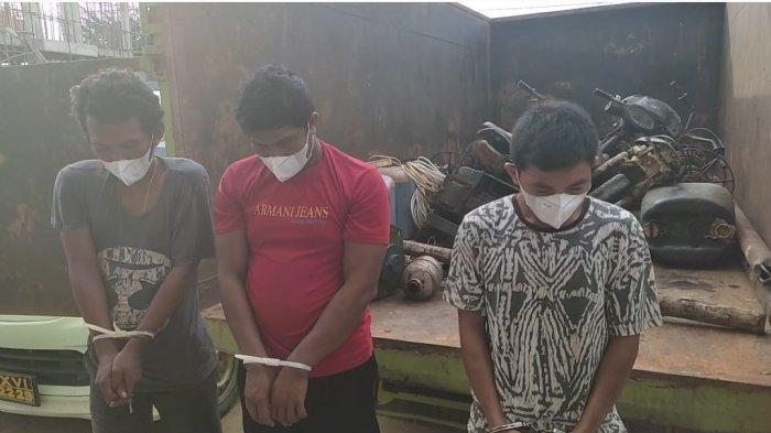 Baru Dua Minggu Menambang Minyak Ilegal di Batanghari, 3 Orang Ini Malah Ditangkap