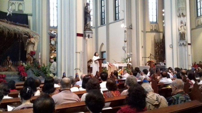 Jadwal Misa Natal Gereja Katolik di Katedral Jakarta 2019, Malam Natal s/d Tahun Baru 2020