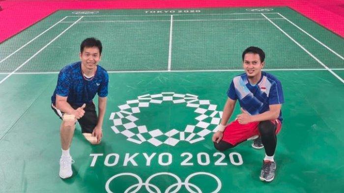 Hasil Olimpiade Tokyo - The Daddies Mohammad Ahsan/Hendra Setiawan Gagal Raih Perunggu