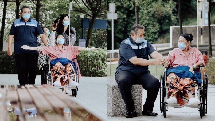 Kondisi Ani Yudhoyono Semakin Membaik, Meski Hanya Sebentar Istri SBY Datangi Apartemen Suaminya