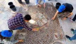 Mosaik 1.700 Tahun Jaman Romawi Ditemukan di Israel