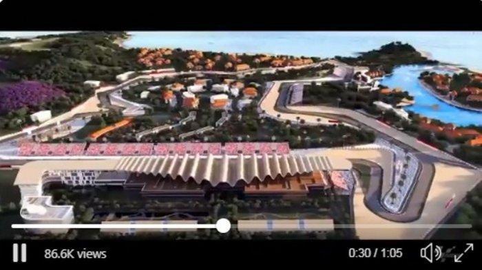 MotoGP Resmi Kenalkan Sirkuit Mandalika, Lombok dengan Video, Akan Digunakan di Ajang MotoGP 2021