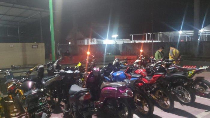 Dianggap Meresahkan, Puluhan Pebalap Motor Liar di Kota Jambi Diringkus Anggota Reskrim Polresta