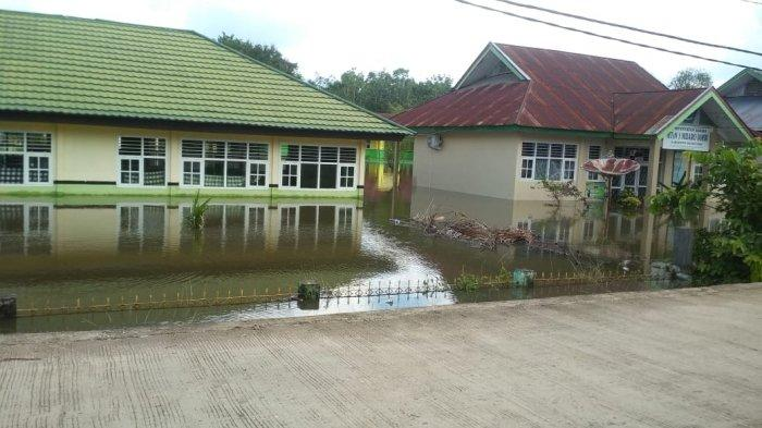 Satu Sekolah di Sengeti Terendam Banjir, Imbas Luapan Sungai Batanghari