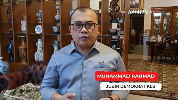 Juru Bicara Partai Demokrat pimpinan Moeldoko, Muhammad Rahmad.