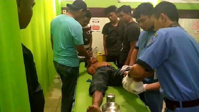 Dor, Polisi Tembak Kaki Tersangka Pembunuhan Anak Kandung di Sungai Manau