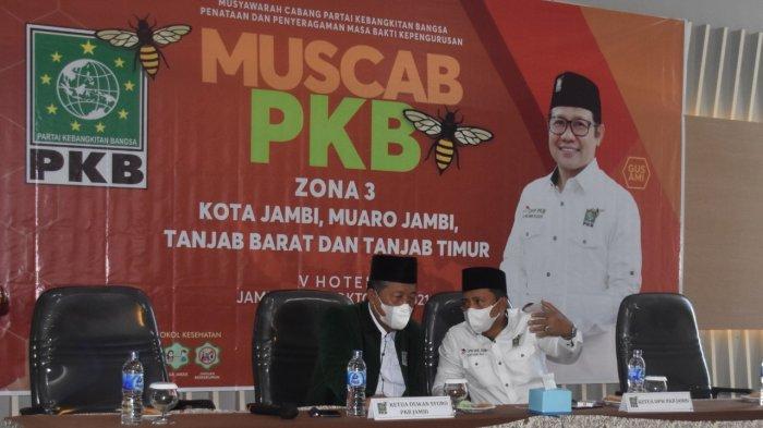 Ketua DPW PKB Sebut Muscab se-Provinsi Jambi untuk Pembenahan Struktur dan Konsolidasi