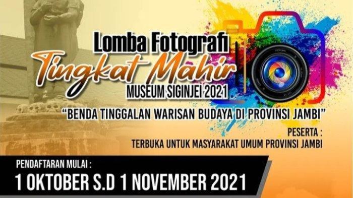 Museum Siginjei Jambi Gelar Lomba Fotografer Tingkat Mahir