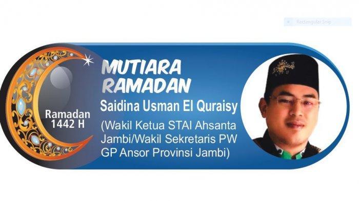 Mutiara Ramadan - Produktif Dalam Menjalankan Puasa