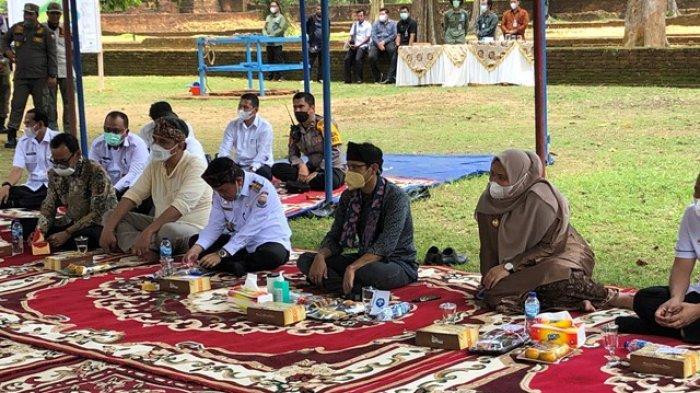 Mas Menteri Nadiem Makarim akan Minta Dukungan Presiden Jokowi Memajukan Candi Muaro Jambi