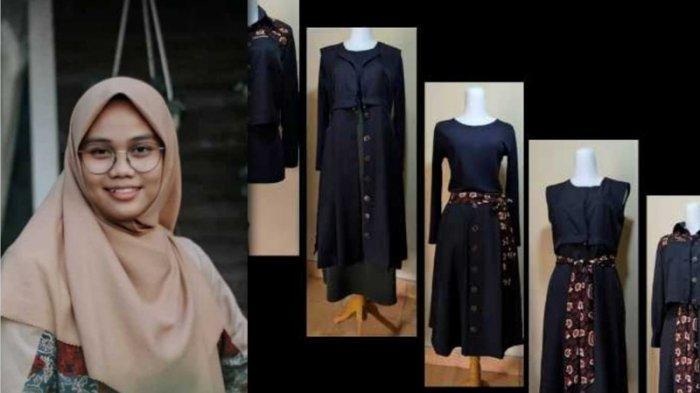 Kreativitas Nadia Peraih Dana Hibah dari Kemendikbud, Satu Set Busana Bisa Untuk 5 Style