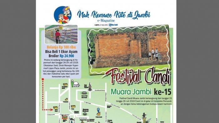 Nak ke Mano Kito di Jambi? Nih Panduan Agenda Menarik Sabtu-Minggu (27/7-23/8)